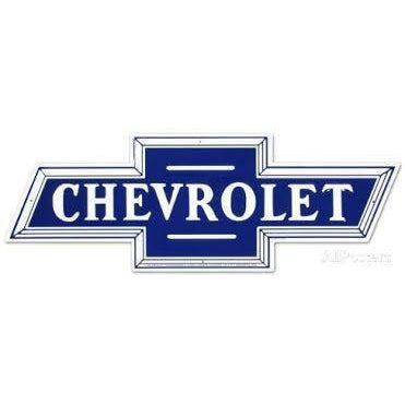 Chevrolet Tin Signs