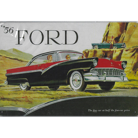 56 Ford Tin Sign-Mr Revhead