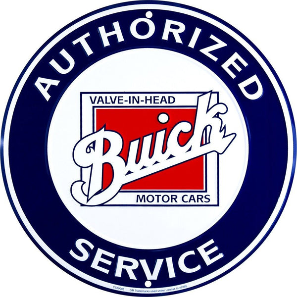 Buick Service Tin Sign-Mr Revhead