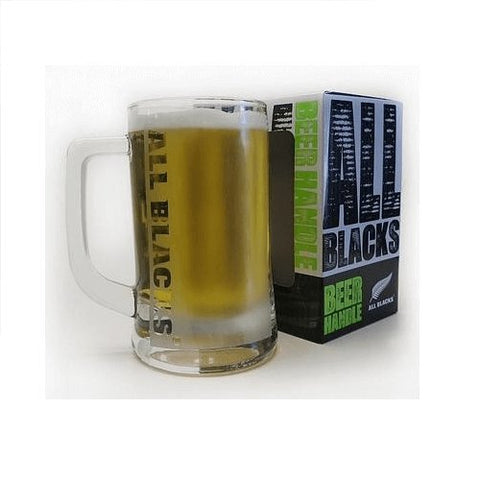 All Blacks Frosted Beer Glass-Mr Revhead