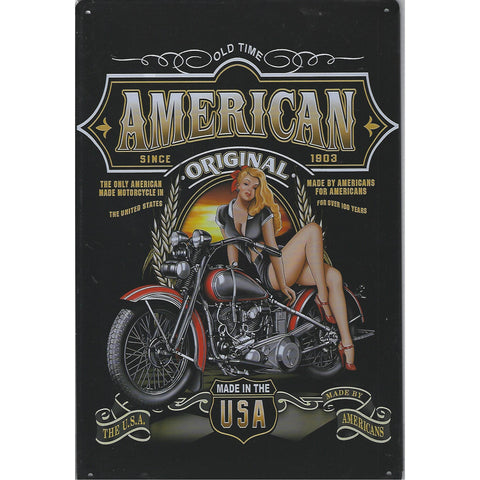 American Original Tin Sign-Mr Revhead