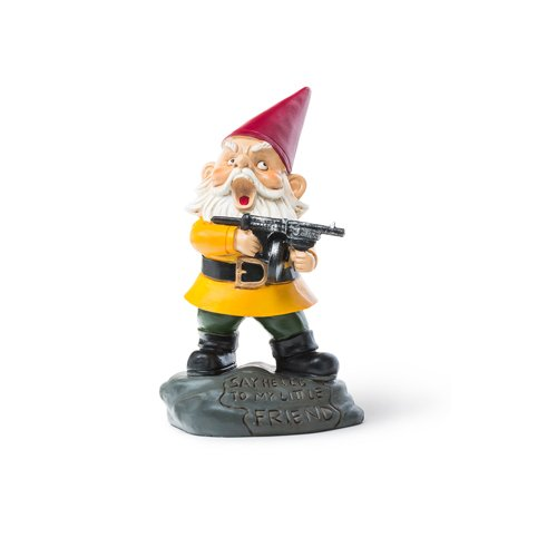Angry Little Garden Gnome-mightymoo