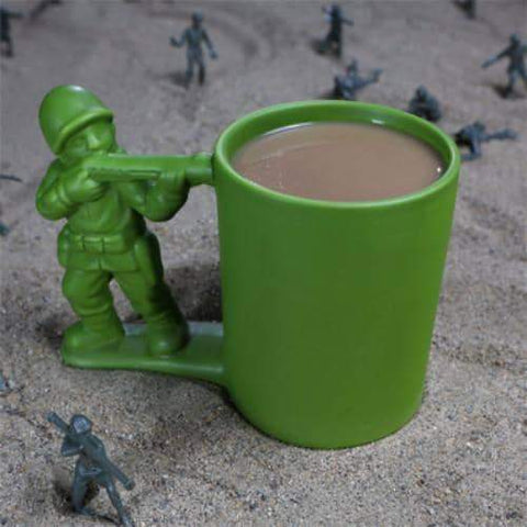 Army Man Coffee Mug-mightymoo