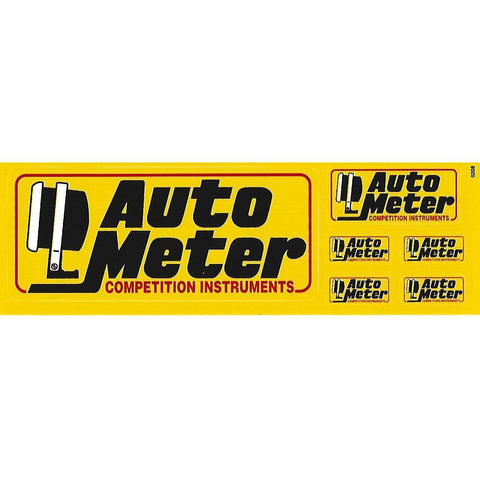 Auto Meter Multi-Decal Sheet-Mr Revhead