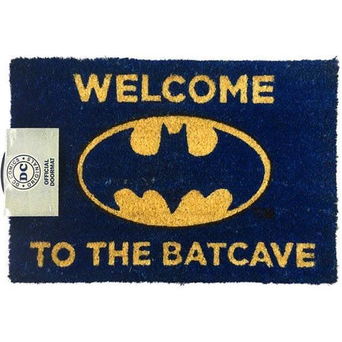 Batman - Welcome To The Batcave Doormat-mightymoo