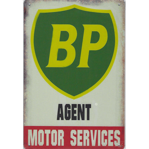 BP Agent Tin Sign-Mr Revhead