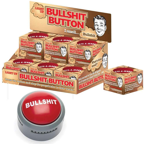 Bullshit Button - Fun Office Desk Toy-mightymoo