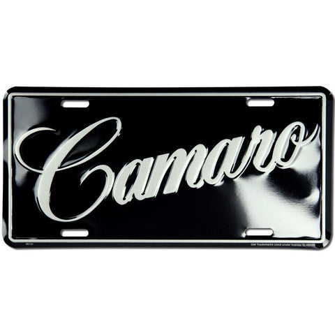 Camaro License Plate-Mr Revhead