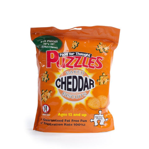 Cheddar Biscuits Jigsaw Puzzle - 500 Piece Bag-Mr Revhead