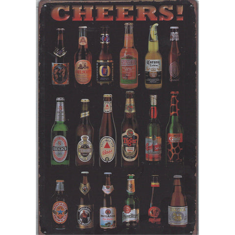Cheers Tin Sign-Mr Revhead