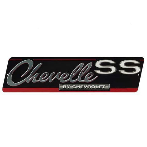 Chevelle By Chevrolet Tin Sign-Mr Revhead