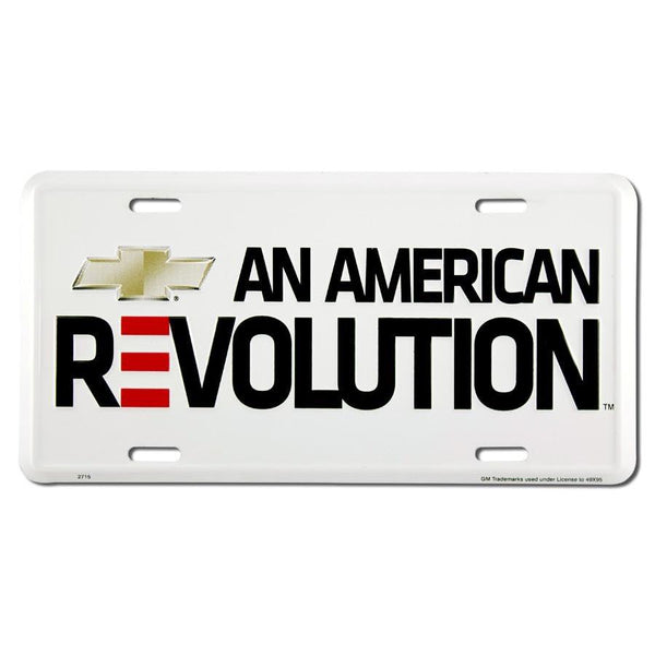 Chevrolet An American Revolution License Plate-Mr Revhead