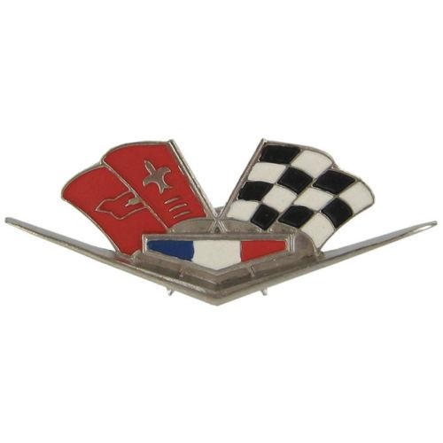 Chevrolet Corvette Checkered Flag Draw Pullers-Mr Revhead
