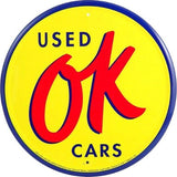 Chevrolet OK Used Cars Tin Sign-Mr Revhead
