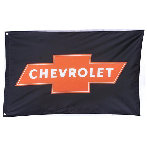Chevrolet Red Bow Tie Flag-Mr Revhead