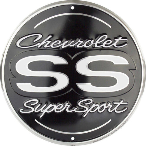 Chevrolet SS Super Sport Tin Sign-Mr Revhead