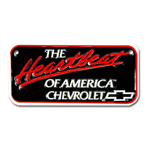 Chevrolet The Heartbeat License Plate-Mr Revhead