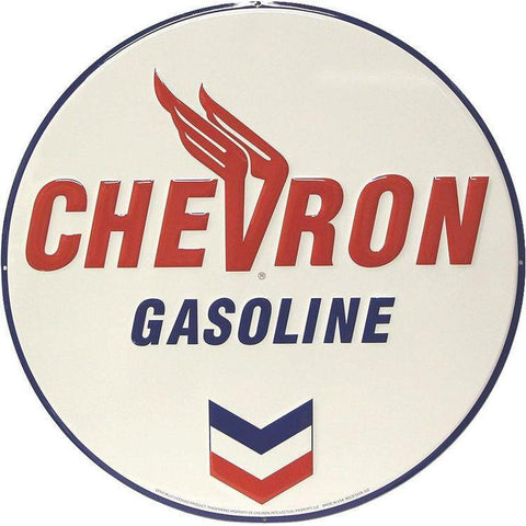 Chevron Tin Sign-Mr Revhead