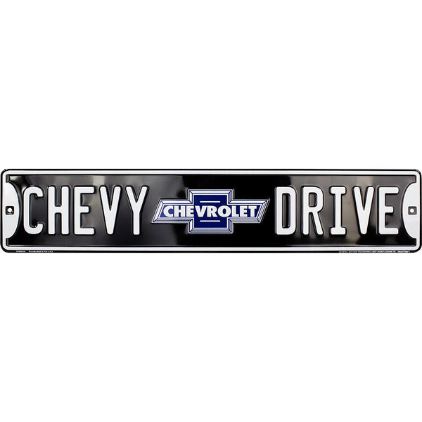 Chevy Drive Street Sign-Mr Revhead