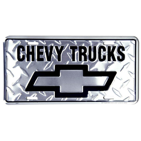 Chevy Trucks License Plate-Mr Revhead