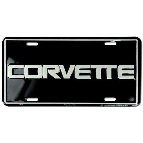 Corvette License Plate-Mr Revhead