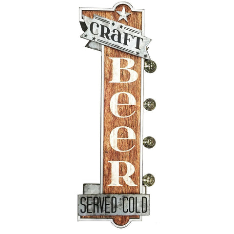 Craft Beer Double Sided LED Light Sign-Mr Revhead