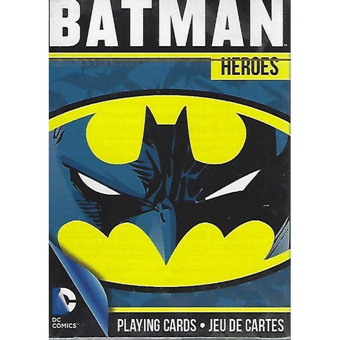 DC Comics Batman Heroes Playing Cards-Mr Revhead