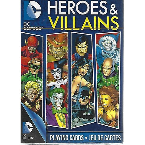 DC Comics Heroes and Villains Playing Cards-Mr Revhead