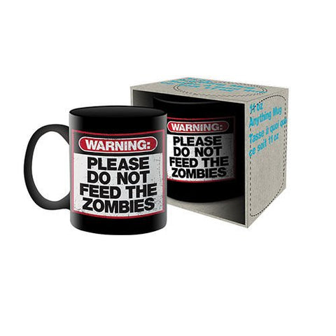 Do Not Feed The Zombies Mug-Mr Revhead