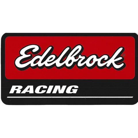 Edelbrock Racing Sticker / Decal-Mr Revhead