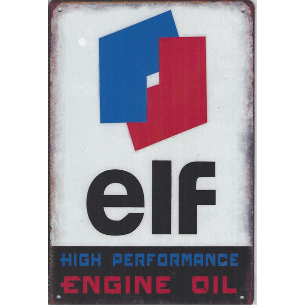 ELF Oil Tin Sign-Mr Revhead