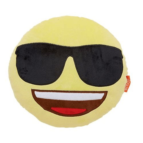 Emoji Smiley Glasses Pillow-Mr Revhead
