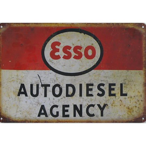 Esso Tin Sign-Mr Revhead