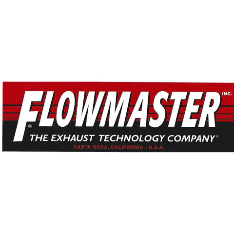Flowmaster Decal / Sticker-Mr Revhead