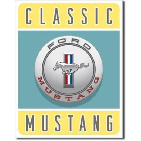 Ford - Classic Mustang Tin Sign-Mr Revhead