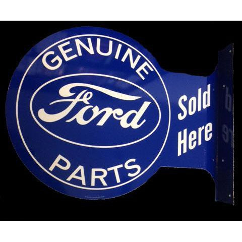 Ford Genuine Parts Sold Here Tin Sign-Mr Revhead