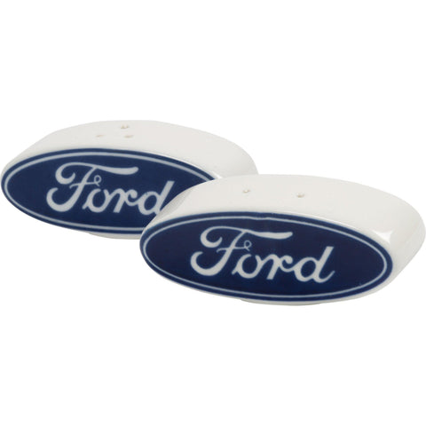 Ford Logo Salt and Pepper Shaker Set-Mr Revhead