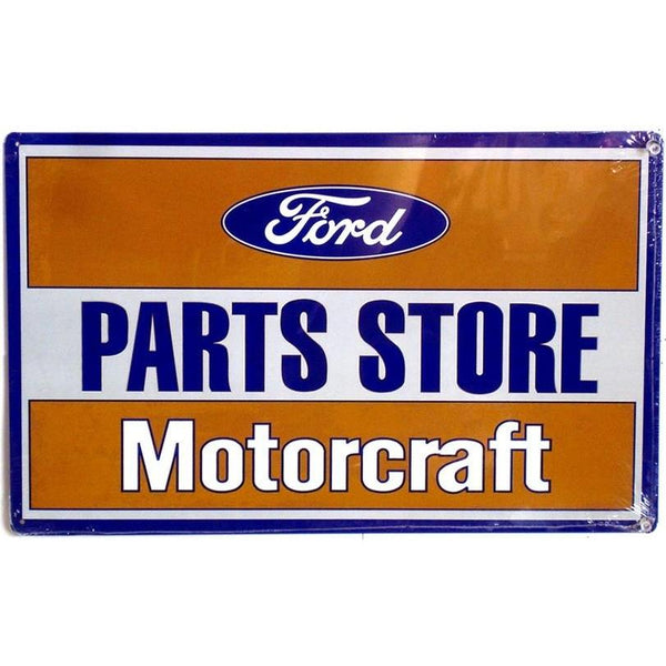 Ford Motorcraft Parts Store Tin Sign-Mr Revhead