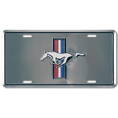 Ford Mustang Pony License Plate-mightymoo