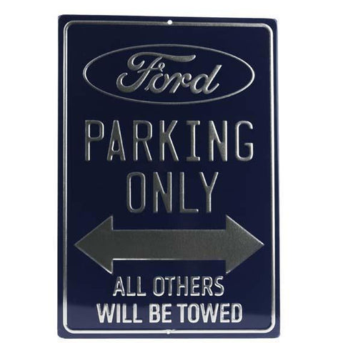 Ford Parking Only Tin Sign-Mr Revhead
