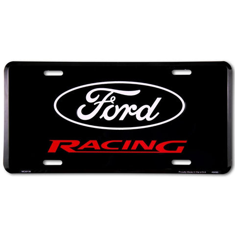 Ford Racing License Plate-Mr Revhead