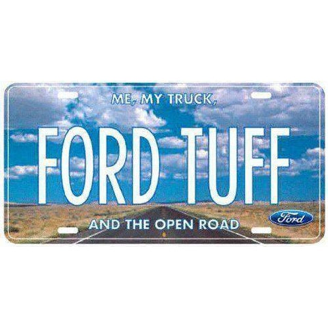 Ford Tough Tuff Novelty License Plate-mightymoo