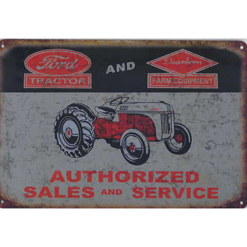 Farm Equipment Tin Signs