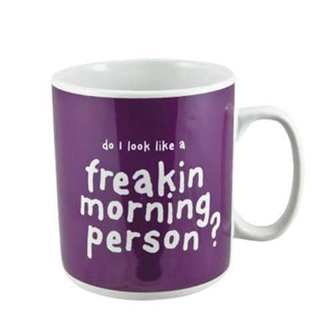 Freakin Morning Person Giant Mug-Mr Revhead