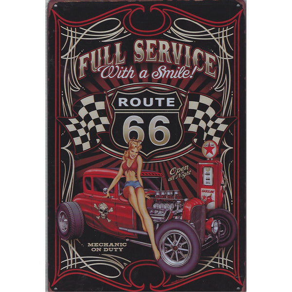 Full Service Tin Sign-Mr Revhead