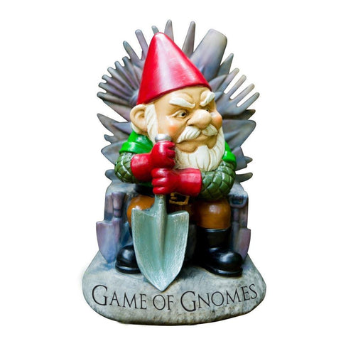 Game Of Gnomes Garden Gnome-Mr Revhead