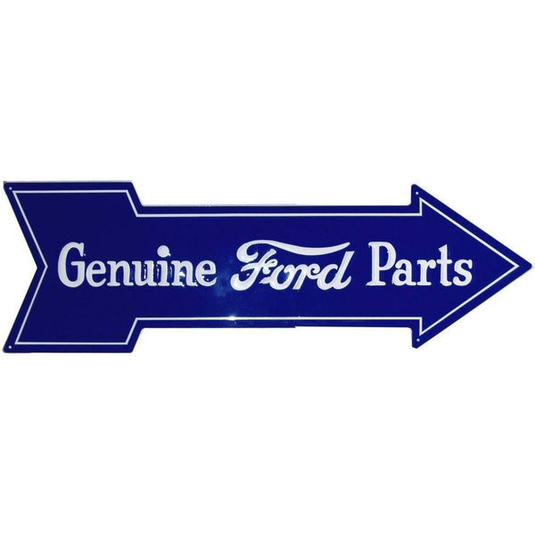 Genuine Ford Parts Arrow Tin Sign-Mr Revhead
