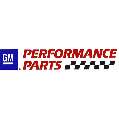 GM Performance Parts Sticker / Decal-Mr Revhead