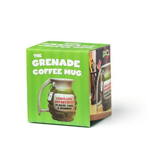 Grenade Coffee Mug - Take A Number-Mr Revhead