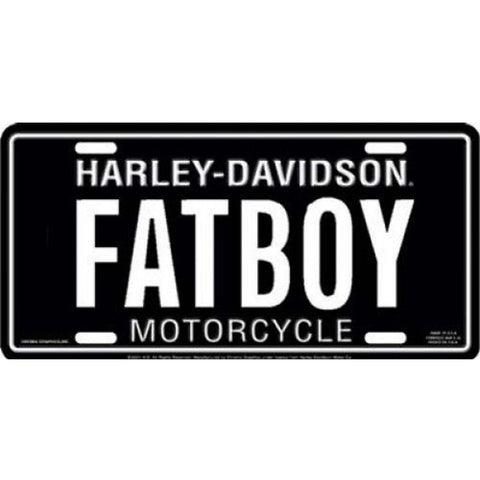 Harley Davidson FATBOY License Plate-Mr Revhead